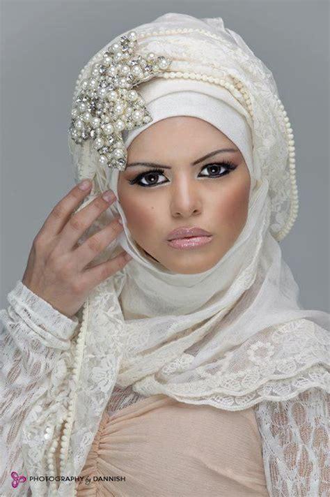 hijab  mariee pinterest mode