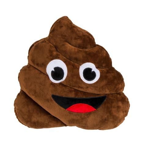 petit canape coussin crotte emoji émoticône couleur marron sur logeekdesign