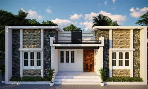 square feet  bedroom modern single floor house  plan  lacks home pictures