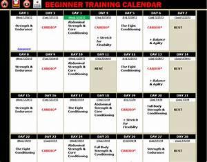 Rushfit Beginner Calendar Ebook Download