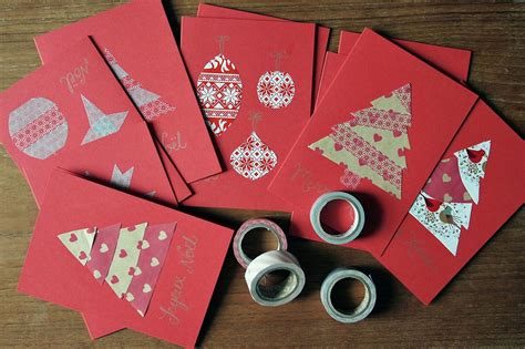diy christmas cards 50 beautiful diy homemade christmas card ideas for 2013