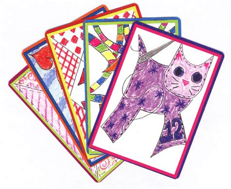 Artistic Children's Custom Playing Card Decks