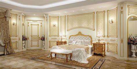 camera da letto  stile barocco foto  design mag