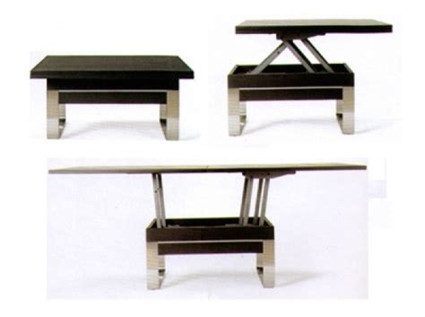 table transformable basse haute