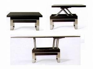 Table Basse Transformable En Table Haute : table transformable basse haute ~ Teatrodelosmanantiales.com Idées de Décoration