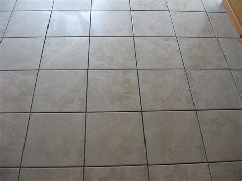 how to clean tile floor grout lines