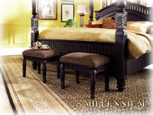 ashley furniture britannia rose bench black finish