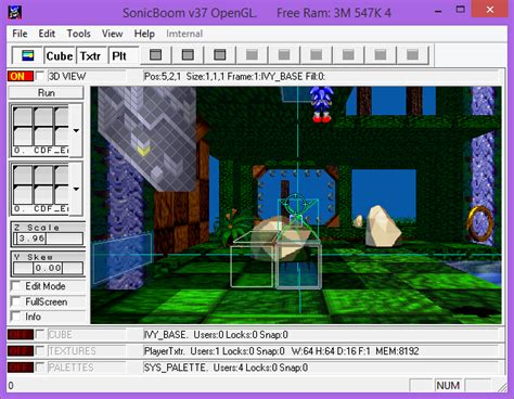 Video of Sonic X-treme's Level Editor Released - Sonic Retro