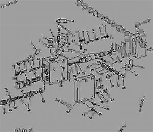1050 Rockshaft Control Valve Housing And Valves  02b22