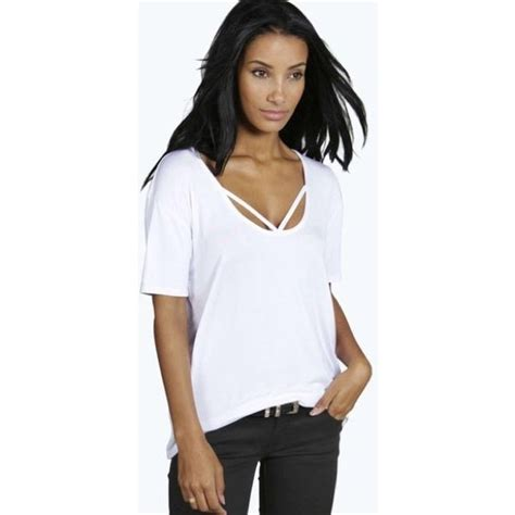 Aeropostale Tops | Sheer Loose Flowy White Knit Strappy ...