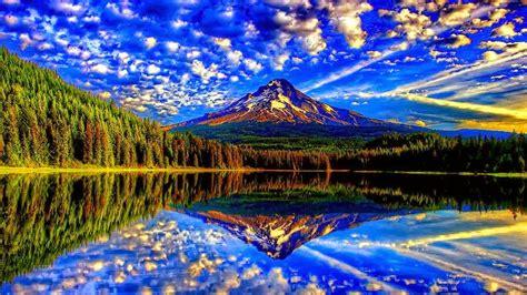 worlds  beautiful nature reflection photography