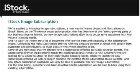 Getty Images Subscription Getty Images Owned Istock Jumping Into Subscription Based