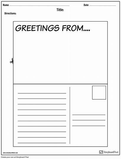 Postcard Worksheet Templates Create Letter Project Windows