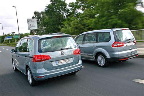 amazing volkswagen sharan vw sharan vs ford galaxy automotive