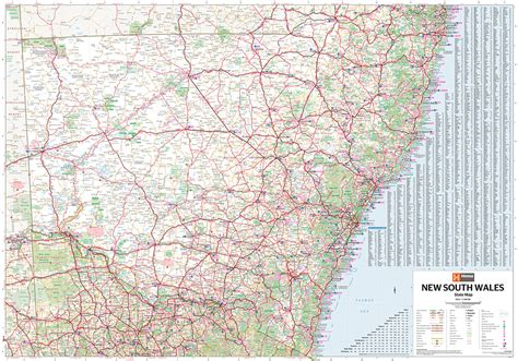 south wales state map  tasmanian map centre
