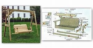Porch Swing Plans • WoodArchivist