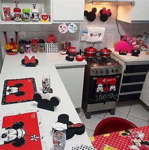 mickey mouse kitchen decor new kitchen style With kitchen cabinets lowes with mickey minnie wall art