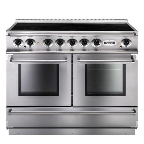 falcon range cooker falcon range cookers 1092 continental induction fcon1092eiss c eu stainless steel with chrome