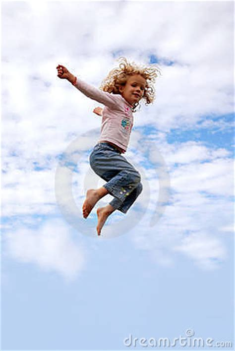 child flying royalty  stock images image
