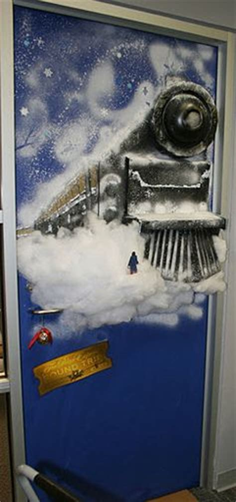 Polar Express Door Decorating Ideas by 1000 Images About Polar Express On