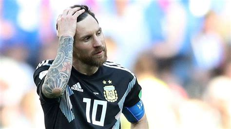 FIFA World Cup 2018: Lionel Messi misses penalty as ...