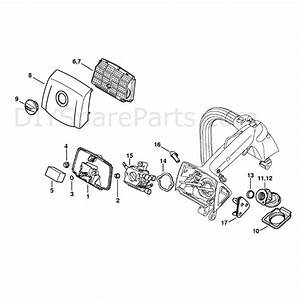 Stihl Ms 192 Chainsaw  Ms192t  Parts Diagram  Air Filter