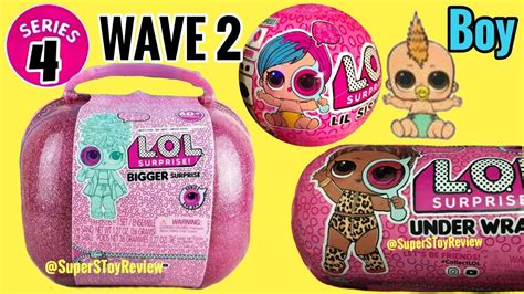 lol surprise series  wave  eye spy lil sisters dolls