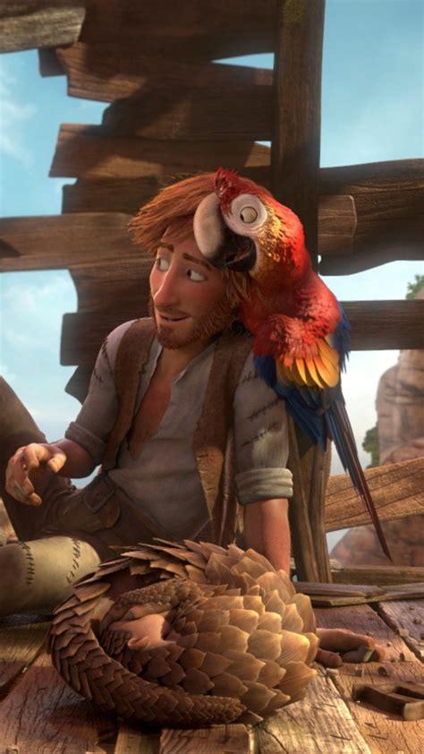 wallpaper robinson crusoe parrot goat hedgehog  animation movies cartoon movies