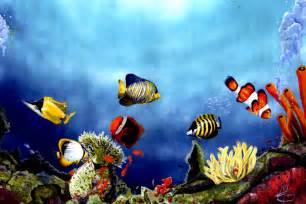 Underwater Scenery Drawings