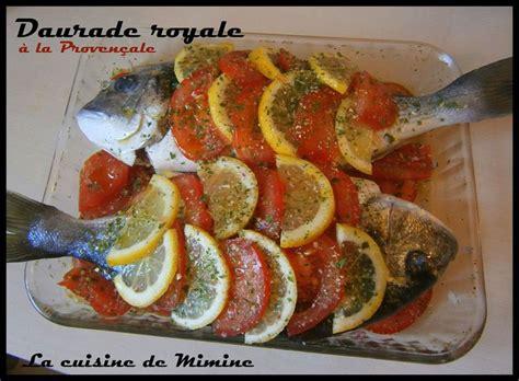 cuisiner une dorade daurade royale au four écailles de tomate et citron la