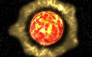 Orange Star In Space - Pics about space