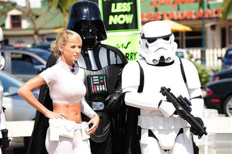 princess leia car wash surround  stormtrooper  darth