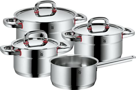 gt gt wmf premium one topfset mit stielkasserolle 4 tlg
