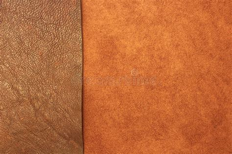 Different Types Of Leather Texture Background Stock Photo