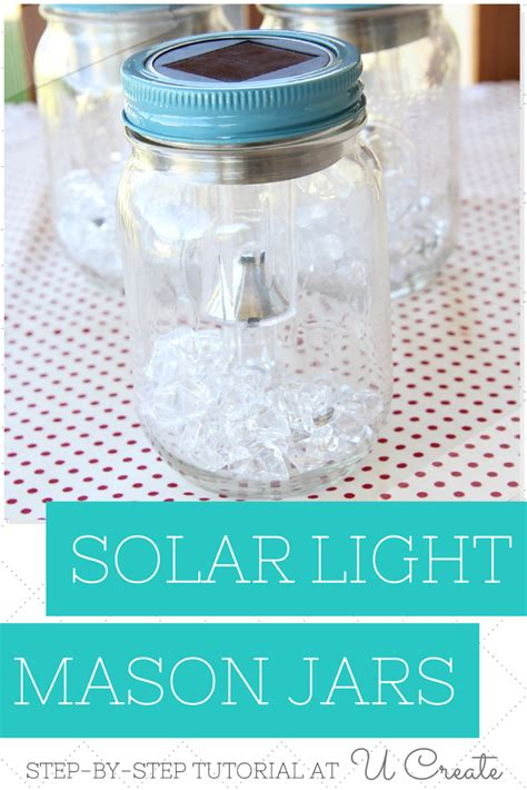diy solar light jars u create