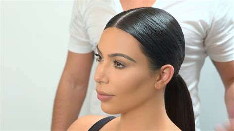 the look smooth low ponytail youtube