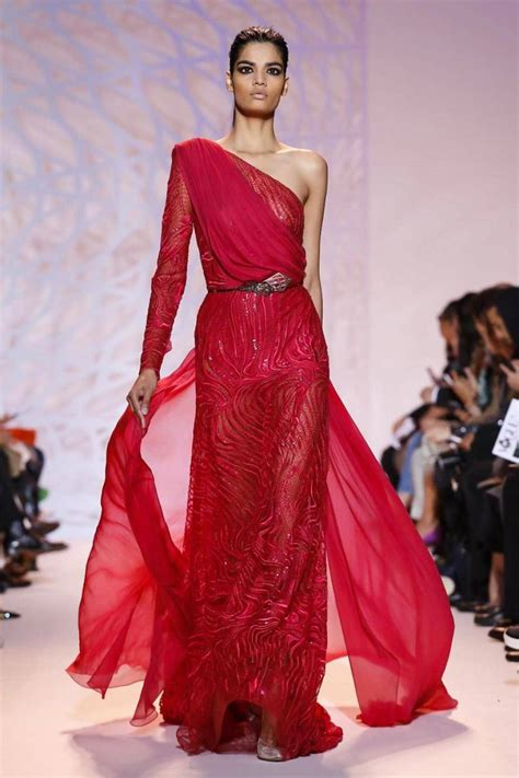 zuhair murad haute couture dresses paris fashion week