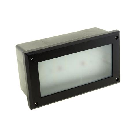 recessed brick wall lighting modern white led outdoor garden recessed brick wall light