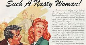 Artist puts Trump's sexist quotes onto 1950s ...