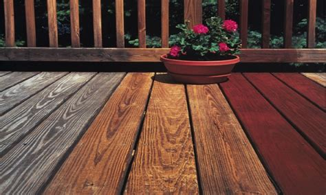 The Best Wood Deck Sealer