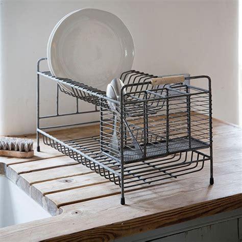 steel vintage draining rack garden trading drying rack kitchen plate storage kitchen