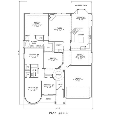 Smart Placement Story Ranch Style House Plans Ideas by Simple Ranch House Plans Custom Floor Story Bedroom