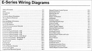 2005 Ford Econoline Van  U0026 Club Wagon Wiring Diagram Manual Original