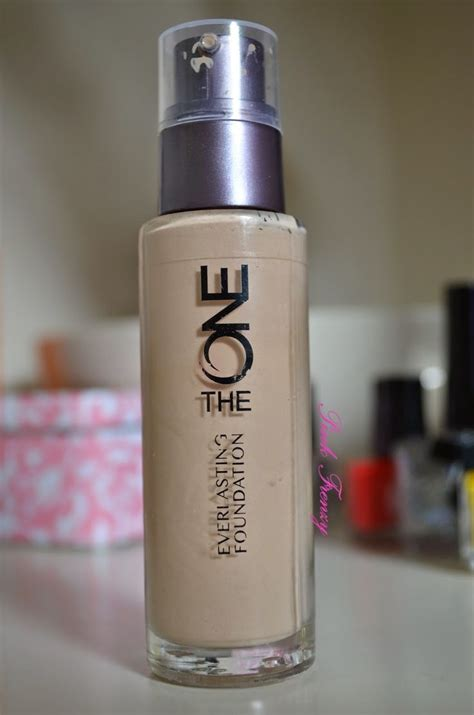 review oriflame   everlasting foundation pink