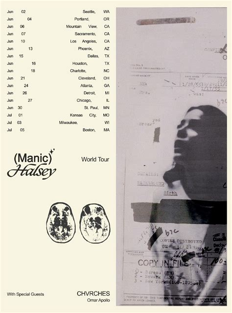 halsey announces summer  manic world