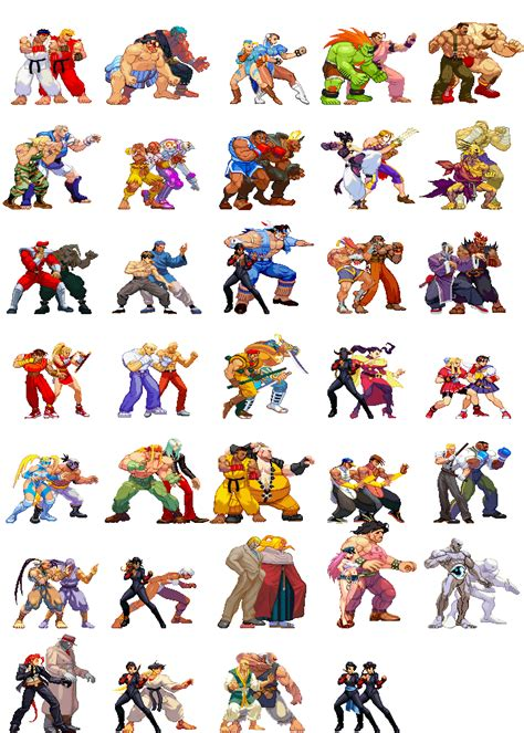 Street Fighter Sprites Fighting Games Street Fighter