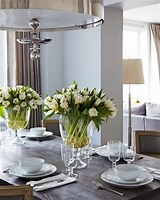 Image result for Fresh Cut Flowers Dining Room Table