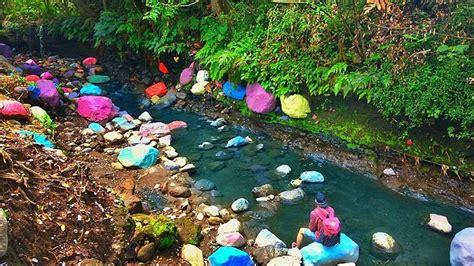 wisata blue lagoon jogja pemandian alami  eksotis