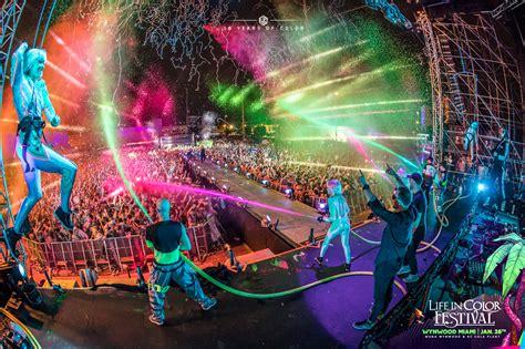 live in color in color miami 2018 announces festival dates venue