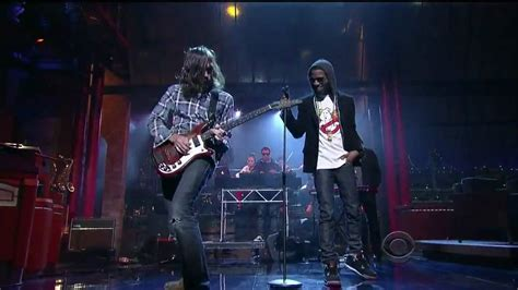 Kid Cudi Pursuit Of Happiness Feat Ratatat Late Show With